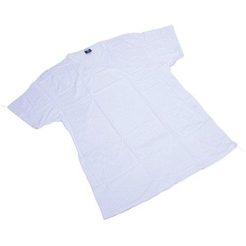 T-shirt taglie forti uomo Maxfort 500. 3 PZ - Bianco, 4XL