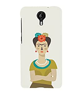 Ebby Premium Printed Mobile Back Case Cover With Full protection For Micromax CanvasNitro4G E371 (Designer Case)