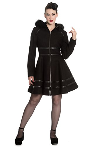 Hell Bunny -  Cappotto  - Donna Black XL