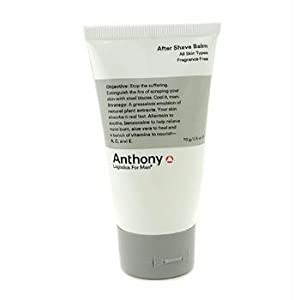 Anthony Logistics for Men Aftershave Balm, 2.5 Ounce from Anthony Logistics For Men