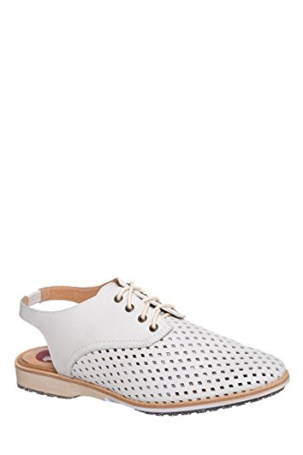 Slingback Perforated Derby