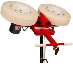 Two Wheel First Pitch Curveball Baseball Pitching Machine by First Pitch
