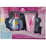 Princess Cindrella 2Pcs.Gift Set [3.4Oz. Eau De Toilette Spray+5.1 Body Lotion] Girl