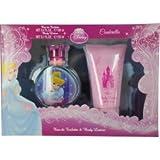 Princess Cindrella 2Pcs.Gift Set [3.4Oz. Eau De Toilette Spray+5.1 Body Lotion] Girl