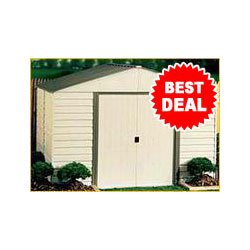 Arrow VM 1012, Vinyl Milford 10′x12′ Storage Shed (VM1012) Category: Arrow Sheds