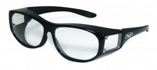 Global Vision Eyewear Escort Safety Glasses, Clear Lens