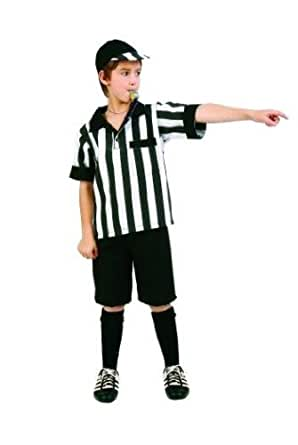 RG_COSTUMES Boys Pre Teen Referee Boy- Size 14-16 Costume