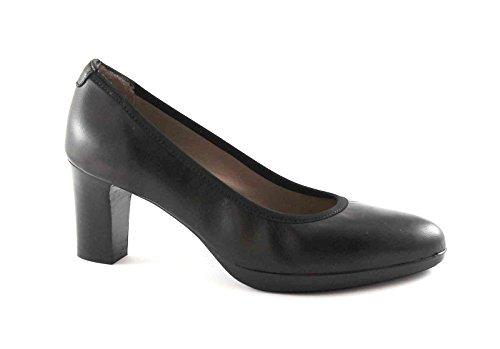MELLUSO D5110V nero scarpe donna decolletè elasticizzato pelle 39