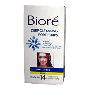 Biore Deep Clean Pore Strips Co