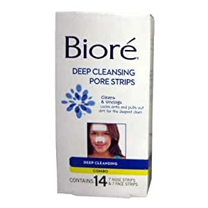 Biore Deep Cleansing Pore Strips 14's Face & Nose