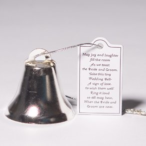 Silver Wedding Bell Favors - Buy Silver Wedding Bell Favors - Purchase Silver Wedding Bell Favors (Century Novelty, Toys & Games,Categories,Activities & Amusements,Noisemakers)