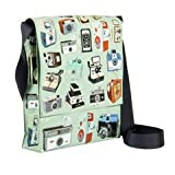 Messenger Bag Cameras 12x11x3 Blue Q 1 Bag