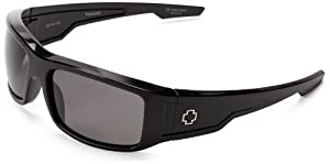 Spy Optic Colt Polarized Wrap Sunglasses,Black,61 mm