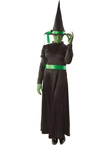 Ladies Wicked Witch Costume Halloween Fancy Dress Book Day Week Size 10-16