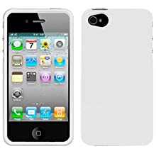 Amzer 90587 Injecto Snap On Hard Case - White For IPhone 4S