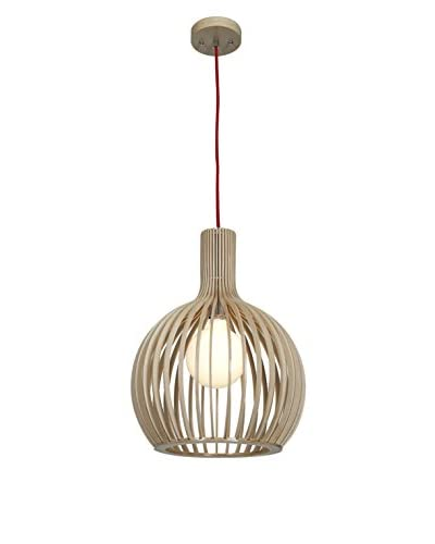 Access Lighting Kobu 1-Light 14 Pendant, Natural