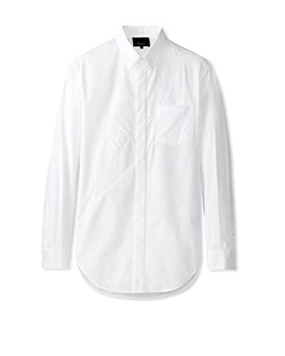 3.1 Phillip Lim Men's Long Sleeve Poplin Shirt
