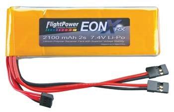 Flightpower LiPo EONX Rx 2S 7.4V 2100 FPWFPEONXRX21002S