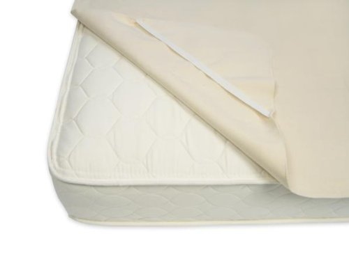 Naturepedic Orgainc Full Mattress Cover Waterproof with Strap