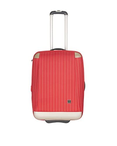 """Safavieh 20"""" Oneonta Carry On , Red Stripe"""