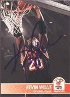 Kevin Willis Miami Heat 1995 Skybox Autographed Hand Signed Trading Card. by Hall+of+Fame+Memorabilia
