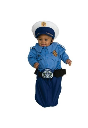 Police Officer Deluxe Bunting Infant Costume