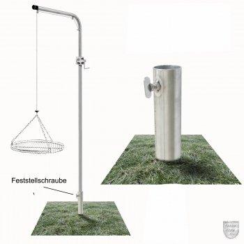 Galgengrill mit Grillrost 50 cm Durchmesser günstig online kaufen