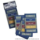 "Spice Labels Adhesive 50 1"" x 3"" PrePrinted"