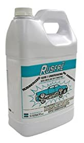 RUSFRE 1020F6 Automotive Spray-On Rubberized Undercoating Material 1-Gallon