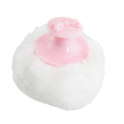 sodialr-houppette-a-poudre-ronde-pour-bebe-poignee-rose-et-peluche-blanc