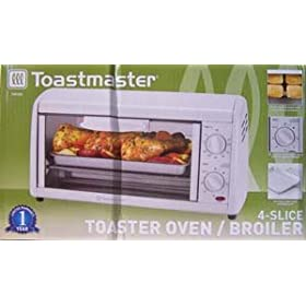 Toastmaster Tov320 4 Slice Toaster Oven Broiler Kitchen