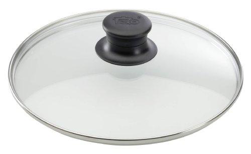 elo 64129 glasdeckel 28 cm glas edelstahl. Black Bedroom Furniture Sets. Home Design Ideas
