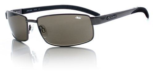 Bolle Fusion JWalker Sunglasses,Shiny Gunmetal/TNS