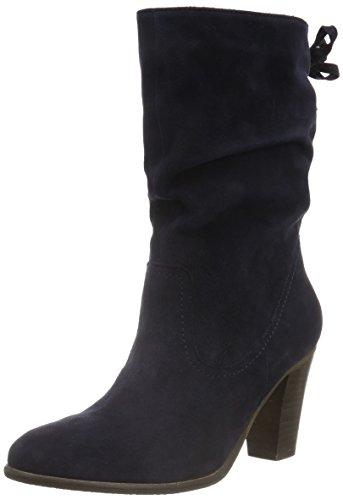SPMCalvin 3/4 Boot - Stivali a metà polpaccio con imbottitura leggera Donna , Blu (Blau (Dk Navy 012)), 39 EU