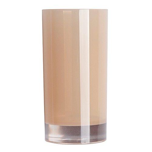 Excelsa Linea Bagno Bicchiere Portaspazzolini, Plastica, Crema