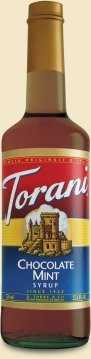 Torani Chocolate Mint Syrup, 750 Ml