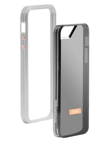 Great Sale Avivo Rail Carbonate / Apple iPhone 5 & 5S Polycarbonate Rail Visor Case (Frost White + Visor Jacket)