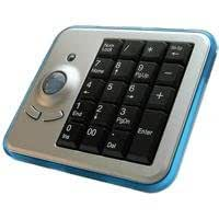 Perixx Peripad-601 Wireless Rechargeable Trackball Keypad