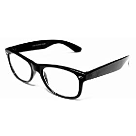 Retro Rockers – Clear – Eyeglasses With Attitude, Black