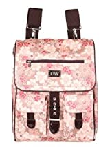 Diapees and Wipees Diaper Bag BackPack - Pink Flower