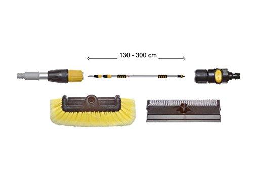 yachticon-kit-de-nettoyage-n-4-balai-brosse-telescopique-alu-130-300-cm-avec-brosse-a-poils-lateraux