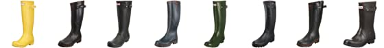 Hunter Unisex-Adult Original Short Wellington Boot