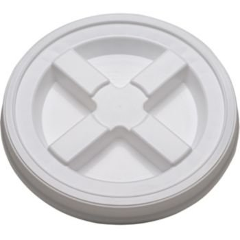 Gamma Seal Lid – White – For 3.5 to 7 Gallon Buckets or Pails