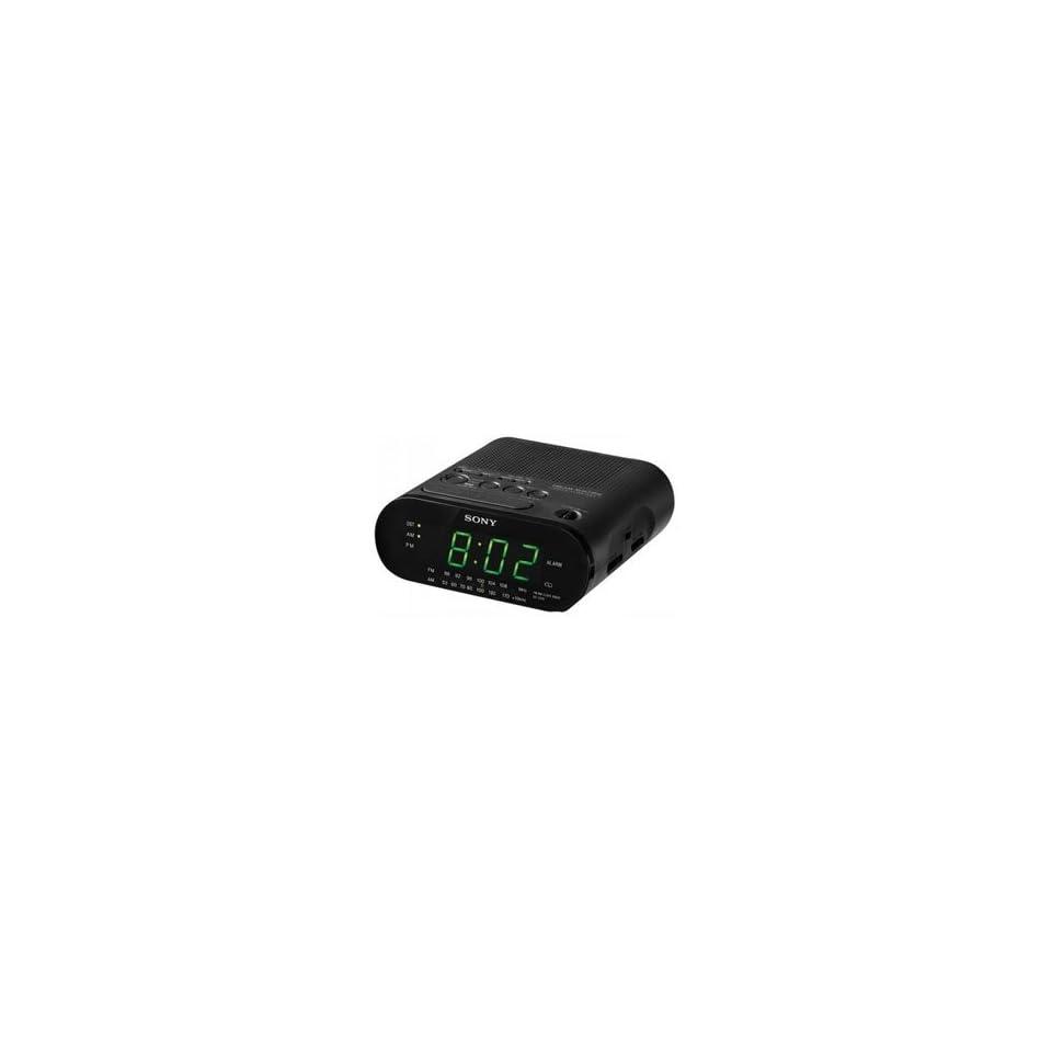 NEW SONY CLOCK RADIO IN BLK (Audio/Video/Electronics