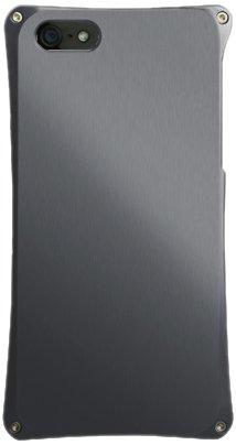 ABEE iPhone5対応 カケンアルマイト 【超肉厚5.4ミリ硬質アルミニウム採用 アルミジャケット】 ガンメタ MA-5X02-GMK