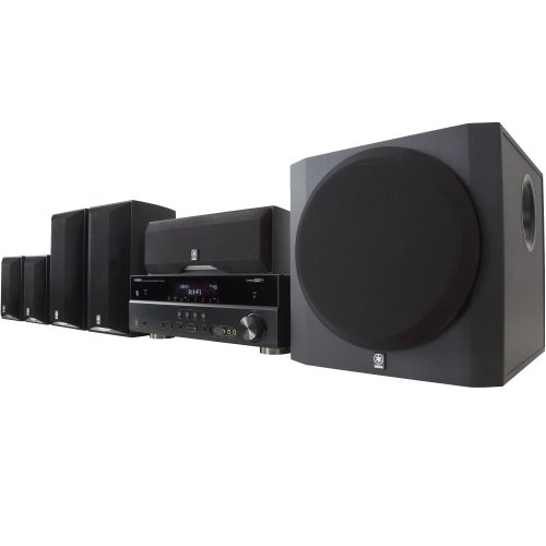 Yamaha YHT-695BL Complete 5.1-Channel Home Theater System