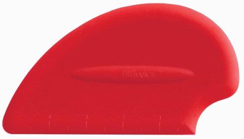 iSi North America B10001 Silicone Scraper Spatula, Red (Isi Spoon Spatula compare prices)