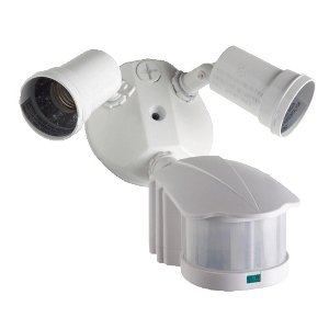 Hubbell Outdoor Lighting S2LH-W S-Series Motion Sensor Kit, White