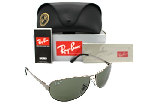 b8e3470ea999b New Authentic Ray-ban Rb 3342 004 58 60mm Gunmetal   Polarized - Import It  All