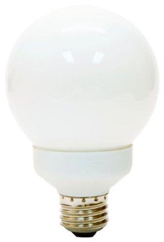 Ge 15-Watt 800-Lumen Cfl G25 Bulb 60-Watt Replacement Globe Light, Warm White